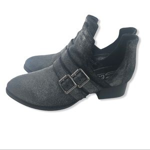 Sbicca Leather Forager Ankle Bootie